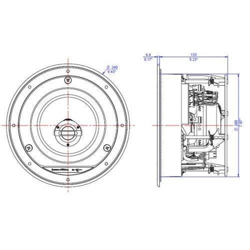 Акустическая система B&W CCM 664