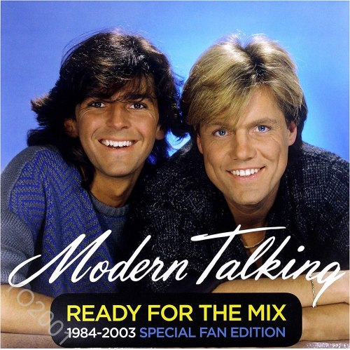 Виниловая пластинка MODERN TALKING - READY FOR THE MIX 1984-2003 SPECIAL FAN EDITION (2 LP, 180 GR, COLOUR)