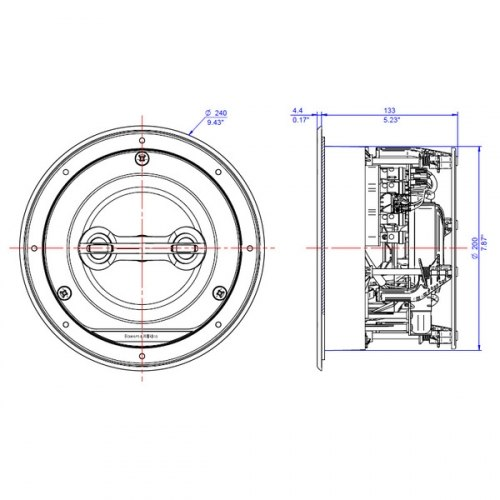Акустическая система B&W CCM 663SR