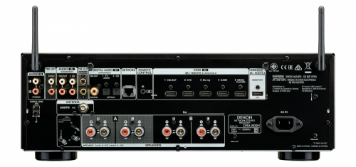 Стереоресивер Denon DRA-800H Black