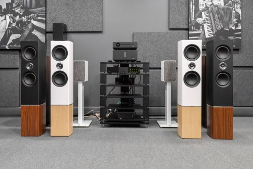 Напольная акустика Tannoy Platinum F6 BURGUNDY