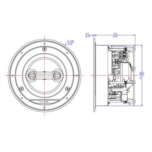 Акустическая система B&W CCM 664SR