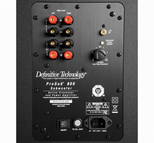 Активный сабвуфер DEFINITIVE TECHNOLOGY ProSub 800