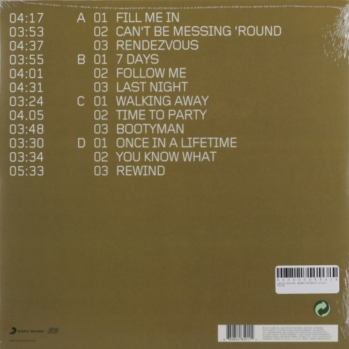 Виниловая пластинка CRAIG DAVID - BORN TO DO IT (2 LP)