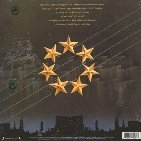 Виниловая пластинка ELECTRIC LIGHT ORCHESTRA - A NEW WORLD RECORD (2016 BLACK VINYL VERSION) (180 GR)