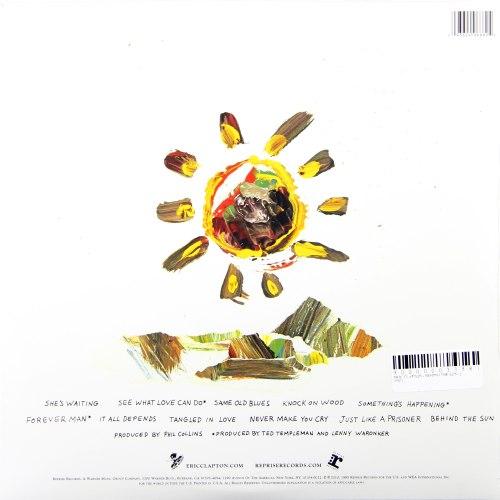 Виниловая пластинка ERIC CLAPTON - BEHIND THE SUN (2 LP)