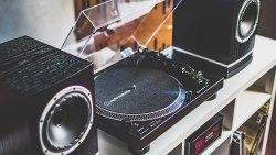 Виниловый проигрыватель Audio-Technica AT-LP120XBT