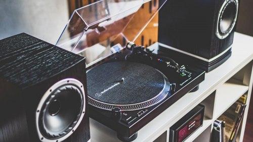 Виниловый проигрыватель Audio-Technica AT-LP120XBT (A)