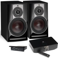 Полочная активная акустика DALI Rubicon 2 C+BluOS Sound HUB+BluOS Module