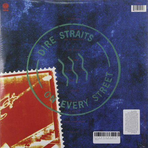 Виниловая пластинка DIRE STRAITS - ON EVERY STREET (2 LP, 180 GR)