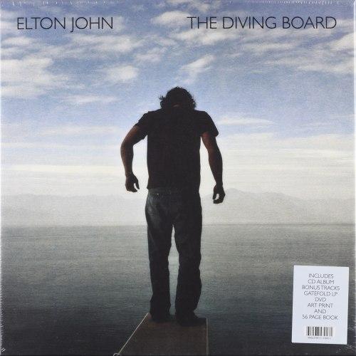 Виниловая пластинка ELTON JOHN - DIVING BOARD (2 LP + CD + DVD)