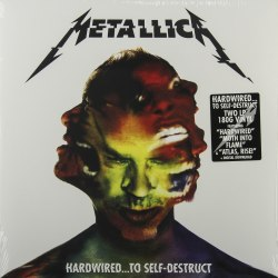 Виниловая пластинка METALLICA - HARDWIRED... TO SELF-DESTRUCT (2 LP, 180 GR)