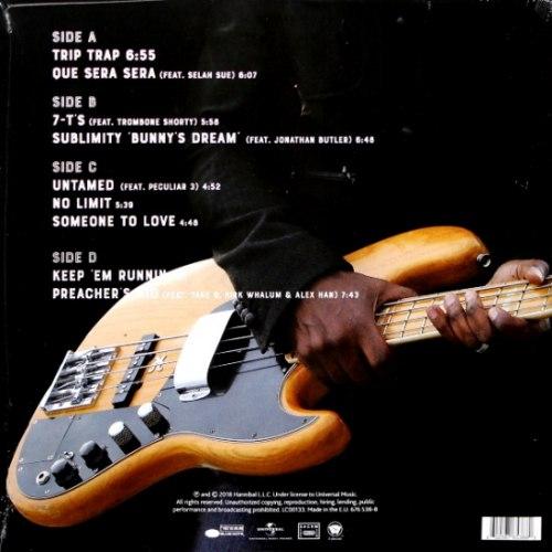 Виниловая пластинка MARCUS MILLER - LAID BLACK (2 LP)