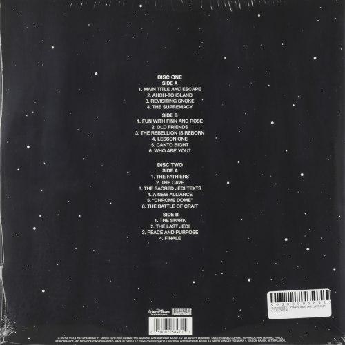 Виниловая пластинка САУНДТРЕК - STAR WARS: THE LAST JEDI (2 LP, 180 GR)