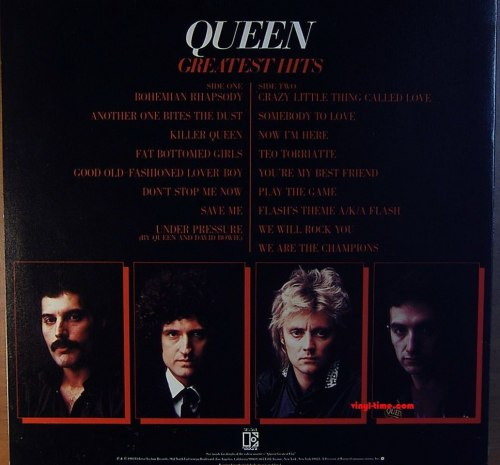 Виниловая пластинка QUEEN - GREATEST HITS (2 LP)