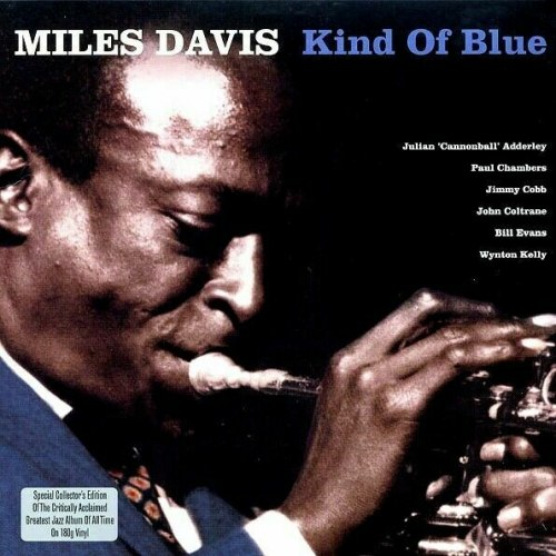 Виниловая пластинка MILES DAVIS - KIND OF BLUE (REISSUE, COLOUR, 180 GR)