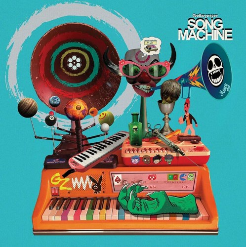 Виниловая пластинка GORILLAZ - GORILLAZ PRESENTS SONG MACHINE, SEASON 1