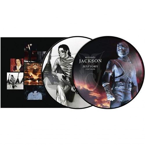 Виниловая пластинка MICHAEL JACKSON - HISTORY CONTINUES (LIMITED, PICTURE DISC, 2 LP)