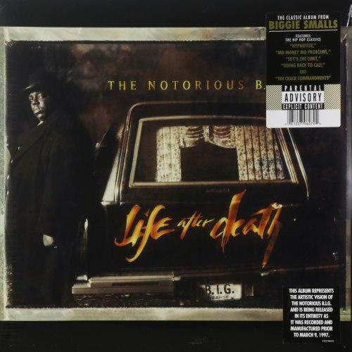 Виниловая пластинка NOTORIOUS B.I.G. - LIFE AFTER DEATH (3 LP)
