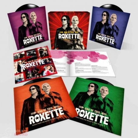 Виниловая пластинка ROXETTE - BAG OF TRIX - MUSIC FROM THE ROXETTE VAULTS (LIMITED, 4 LP)
