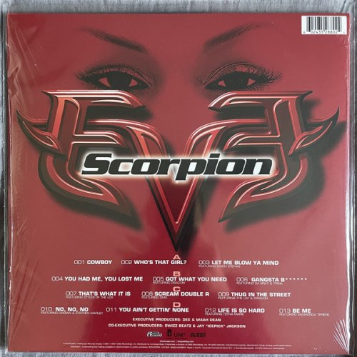Виниловая пластинка Eve - Scorpion