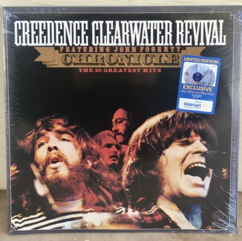Виниловая пластинка CREEDENCE CLEARWATER REVIVAL - CHRONICLE: THE 20 GREATEST HITS (COLOUR, 2 LP)