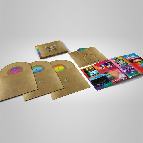 Виниловая пластинка COLDPLAY - LIVE IN BUENOS AIRES / LIVE IN SAO PAULO / A HEAD FULL OF DREAMS (3 LP+2 DVD)