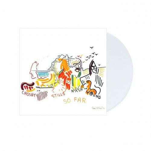 Виниловая пластинка CROSBY, STILLS, NASH & YOUNG - SO FAR (COLOUR)