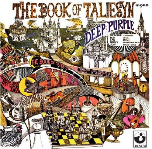 Виниловая пластинка DEEP PURPLE - BOOK OF TALIESYN (MONO)