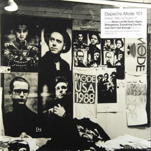 Виниловая пластинка DEPECHE MODE - 101 - LIVE (2 LP, 180 GR)