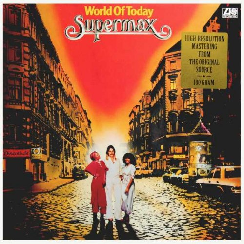 Виниловая пластинка SUPERMAX - WORLD OF TODAY (180 GR)
