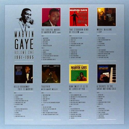 Виниловая пластинка MARVIN GAYE - MARVIN GAYE 1961 - 1965 (7 LP)