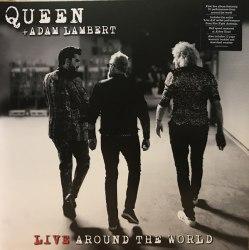 Виниловая пластинка QUEEN, ADAM LAMBERT - LIVE AROUND THE WORLD (2 LP)