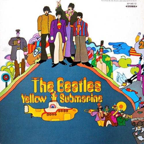 Виниловая пластинка BEATLES - YELLOW SUBMARINE