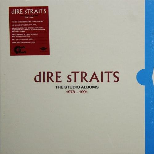 Виниловая пластинка DIRE STRAITS - THE STUDIO ALBUMS 1978-1991 (8 LP, 180 GR)
