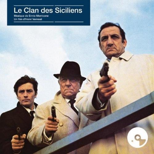 Виниловая пластинка САУНДТРЕК - LE CLAN DES SICILIENS