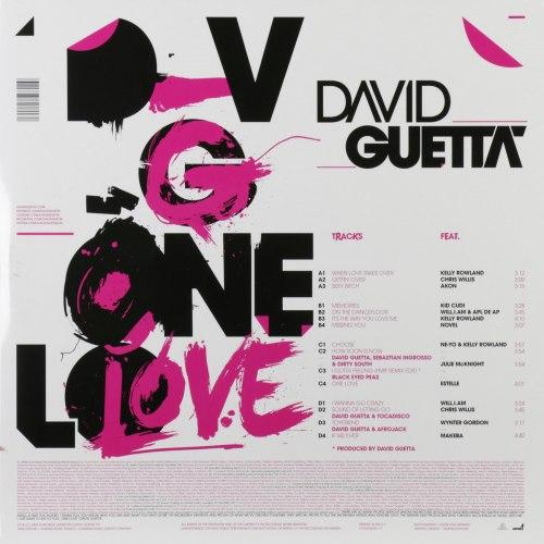 Виниловая пластинка DAVID GUETTA - ONE LOVE (2 LP, COLOUR)