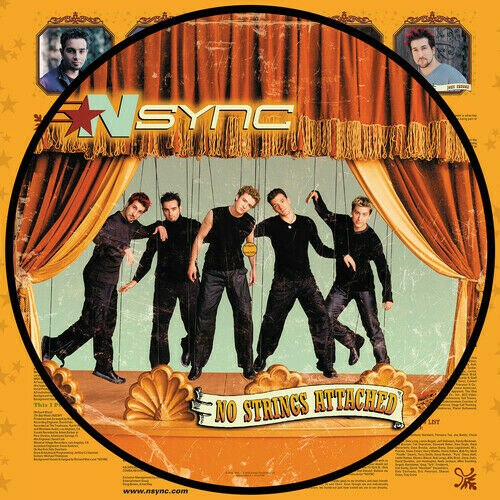 Виниловая пластинка N'SYNC - NO STRINGS ATTACHED (Picture Vinyl)