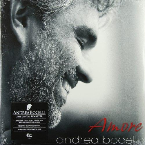 Виниловая пластинка ANDREA BOCELLI - AMORE (2 LP, 180 GR)