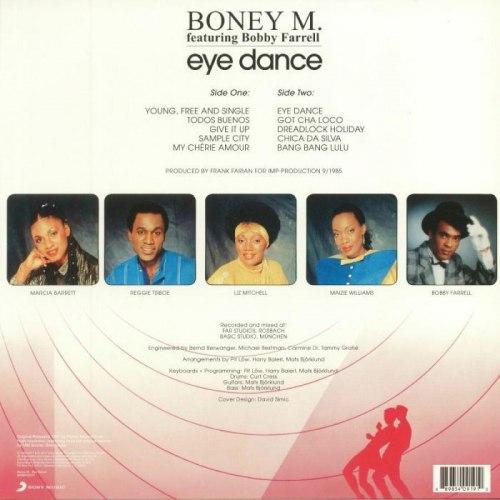 Виниловая пластинка BONEY M. - EYE DANCE