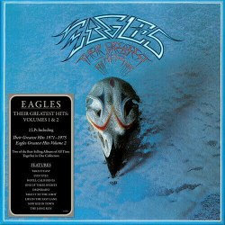 Виниловая пластинка EAGLES - THEIR GREATEST HITS VOLUMES 1 & 2 (2 LP)