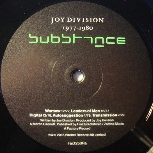 Виниловая пластинка JOY DIVISION - SUBSTANCE 1977-1980 (2 LP)