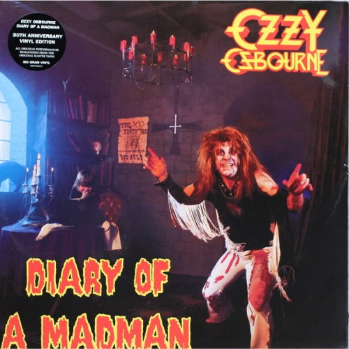 Виниловая пластинка OZZY OSBOURNE - DIARY OF A MADMAN (180 GR)