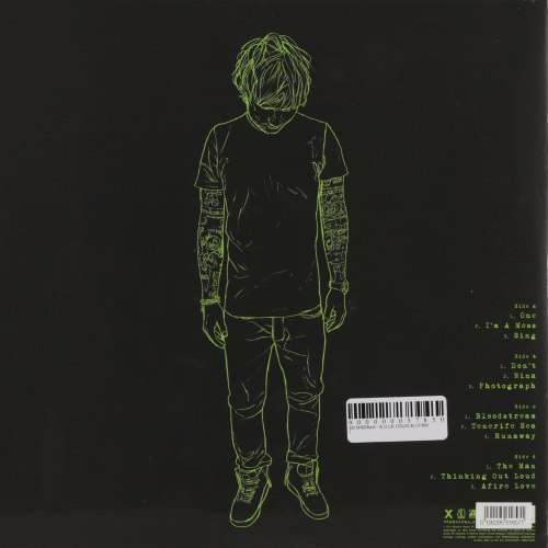 Виниловая пластинка ED SHEERAN - X (2 LP)