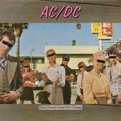Виниловая пластинка AC/DC - DIRTY DEEDS DONE DIRT CHEAP
