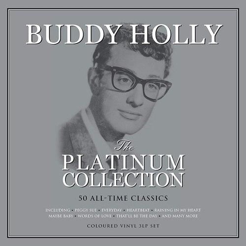 Виниловая пластинка BUDDY HOLLY - THE PLATINUM COLLECTION (COLOUR, 3 LP)