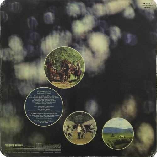 Виниловая пластинка PINK FLOYD - OBSCURED BY CLOUDS (180 GR)