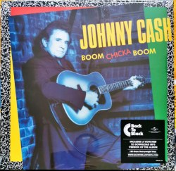 Виниловая пластинка Johnny Cash — BOOM CHICKA BOOM (LP)