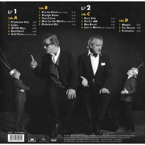 Виниловая пластинка YELLO - TOY (2 LP)