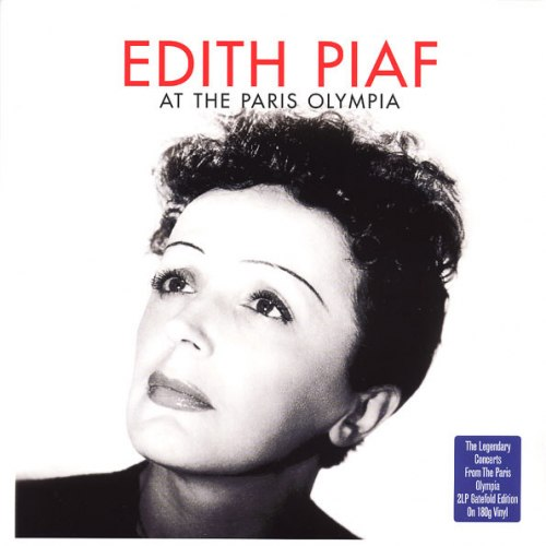 Виниловая пластинка EDITH PIAF - AT THE PARIS OLYMPIA (2 LP, 180 GR)